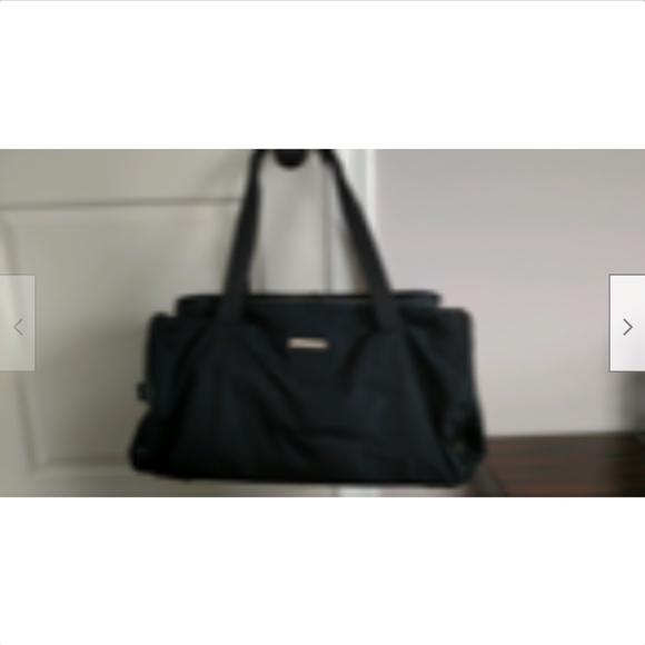079fa867fbd9 Gucci Bags | Black Nylon Duffel Bag 23 X 12 X 10 | Poshmark